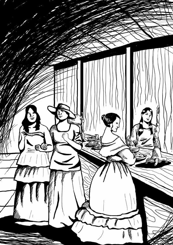 ilustrasi Middag in De Eendracht