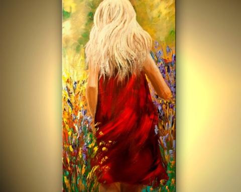 gambar ilustrasi cerpen Semua Bunga Berwarna Merah