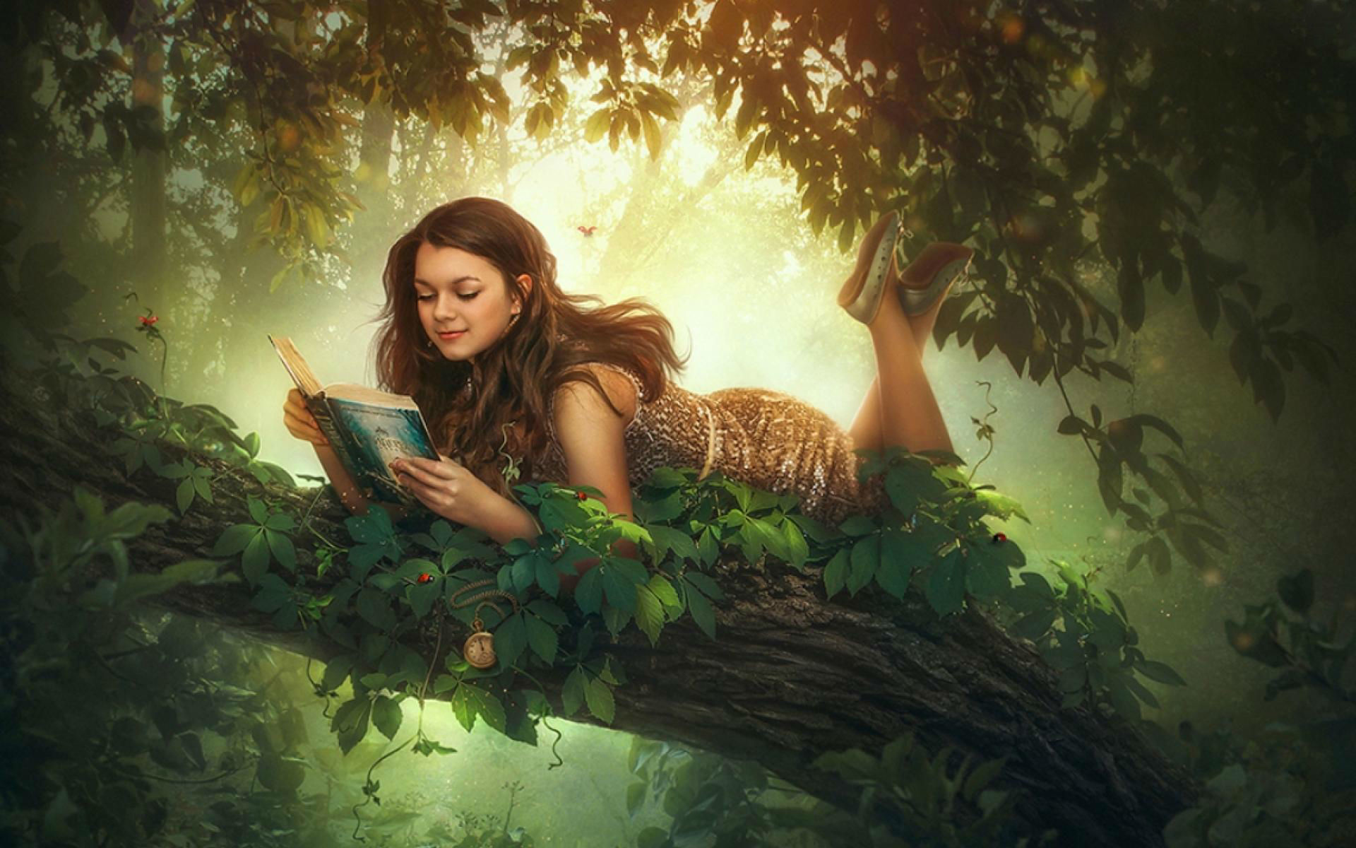 reading-book-tree-fantasy-girl