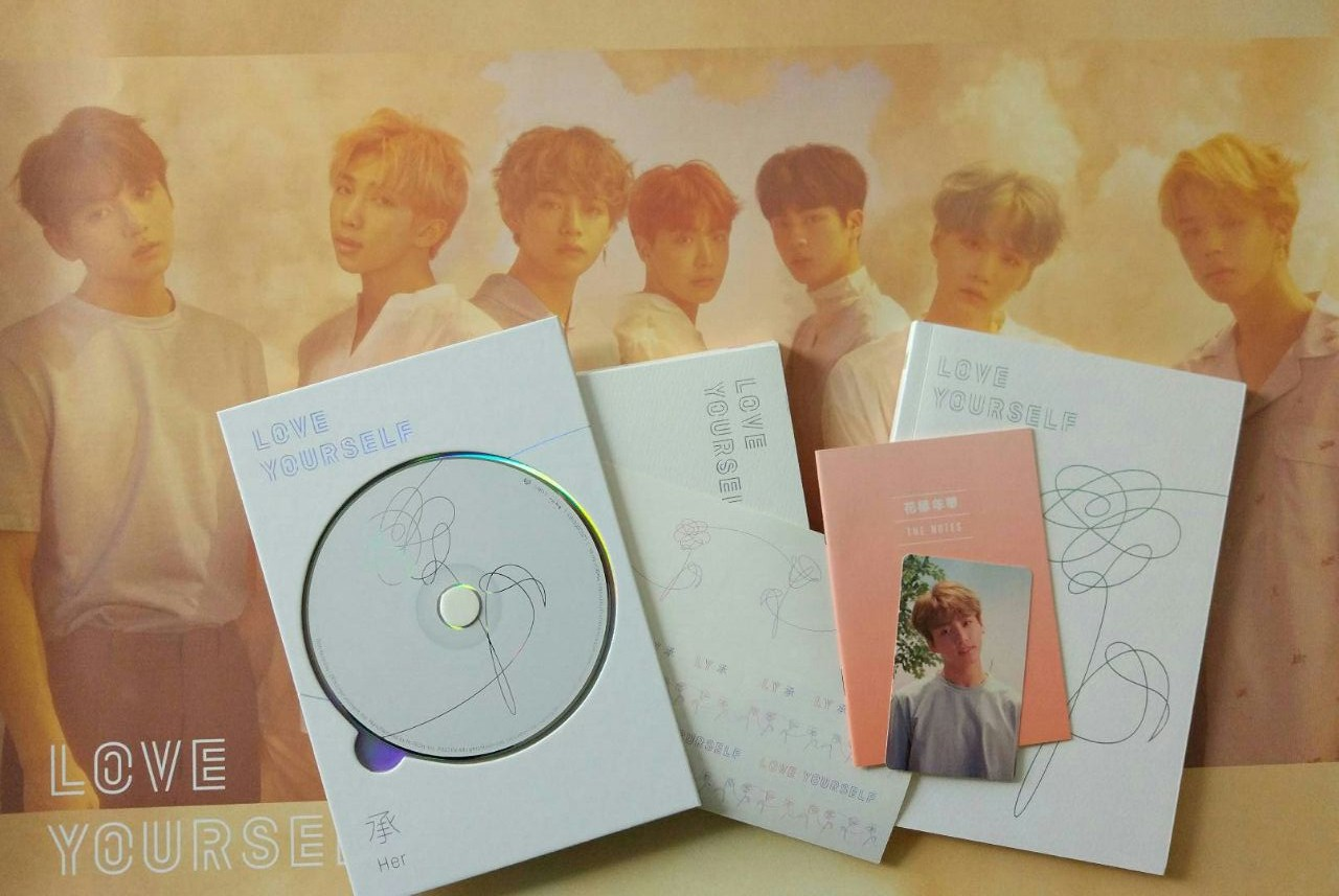 Review Album Love Yourself: Her