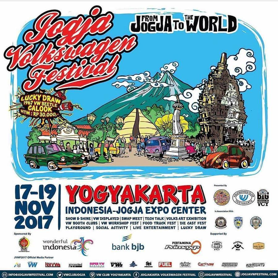 Jogja Volkswagen Festival 2017; From Jogja to The World