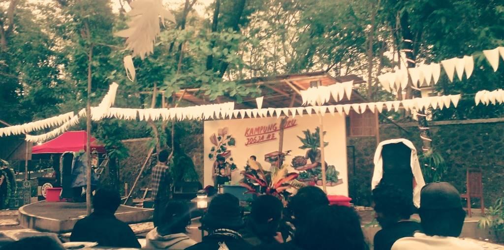 Menulis Musik Tanpa Mendengarkan Haram; Kampung Buku Jogja #3