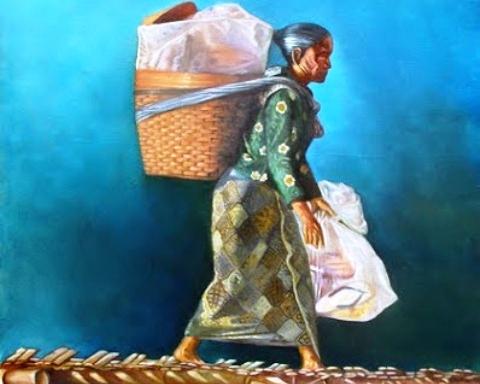 gambar penjual gudeg