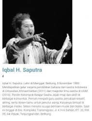 Iqbal H Sapurtra